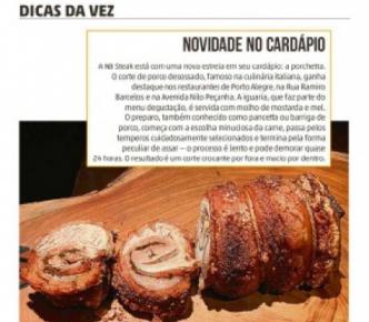 Lançamento da Porchetta em Porto Alegre