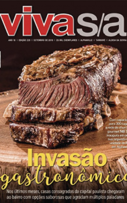NB Steak é capa da Revista Viva/SA